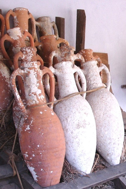 Clay Amphorae, St Peter's Castle, Bodrum