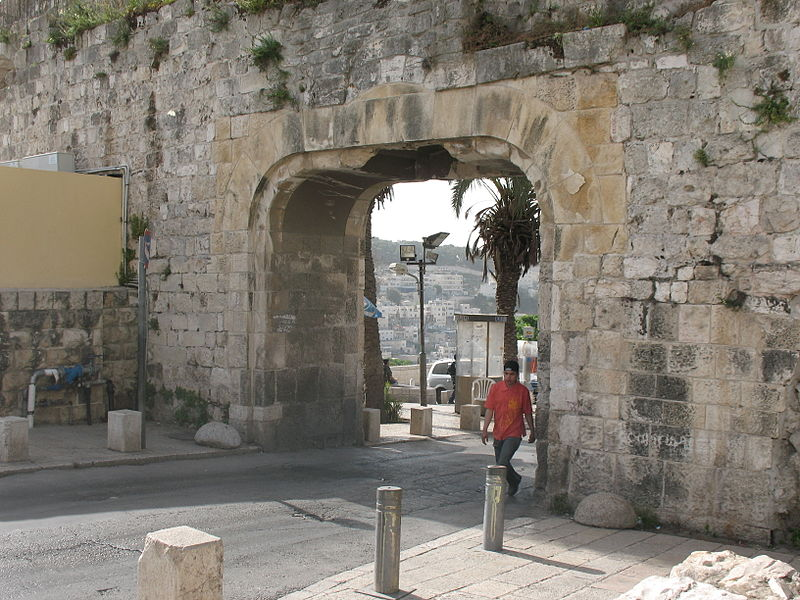 Jerusalem - the Dung Gate (James Emery)