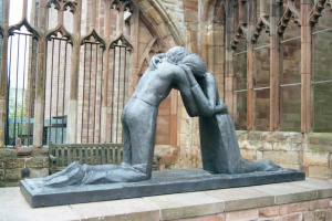 Statue of Reconciliation, Coventry Cathedral