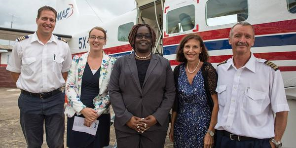 Flying for Life in Liberia (MAF)