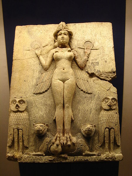 The Queen of the Night - the Babylonian goddess Ishtar (Hispalois)