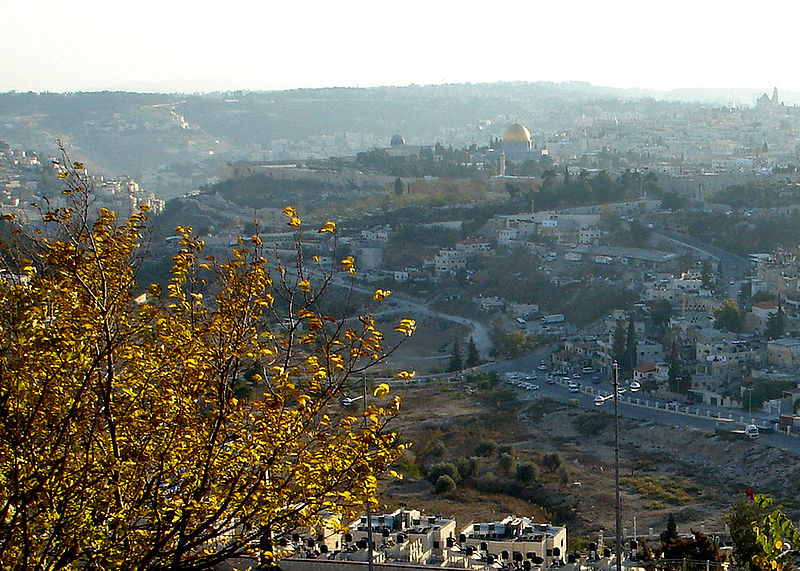 Jerusalem Old City from Mount Scopus (Joe Freeman)