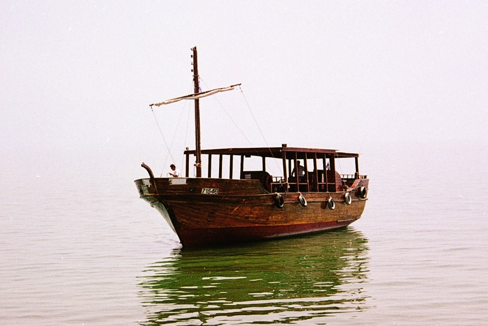 Jesus boat on Lake Galilee