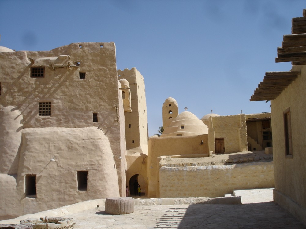 St Antony's Monastery in the Eastern Desert of Egypt