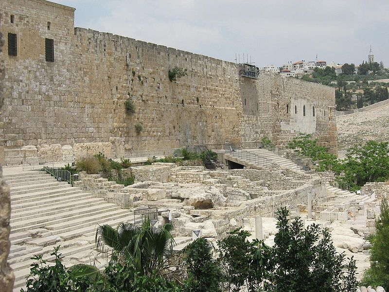 Jerusalem - Southern wall of the Temple Mount (Oren Rozen)