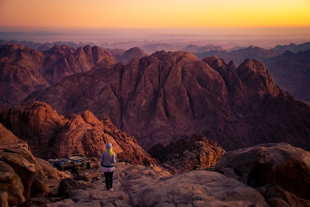 Mount Moses (Mt Sinai) by Mohammed Moussa