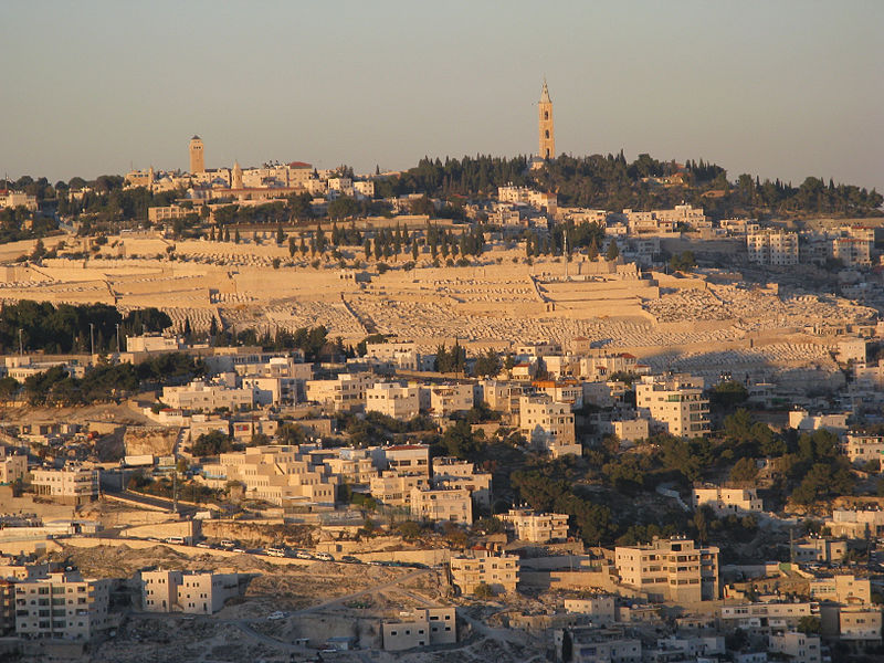 Mount of Olives, Jerusalem (Yair Haklai)