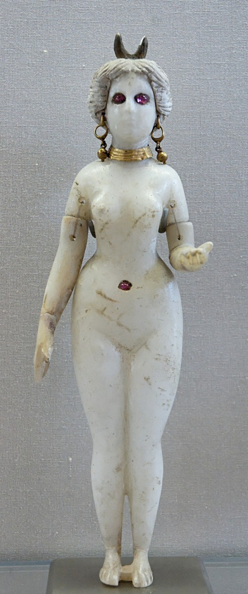 Statuette of Ashtoreth in the Louvre (Marie-Lan Nguyen)