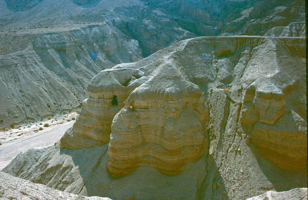 Cave of the Scrolls at Qumran