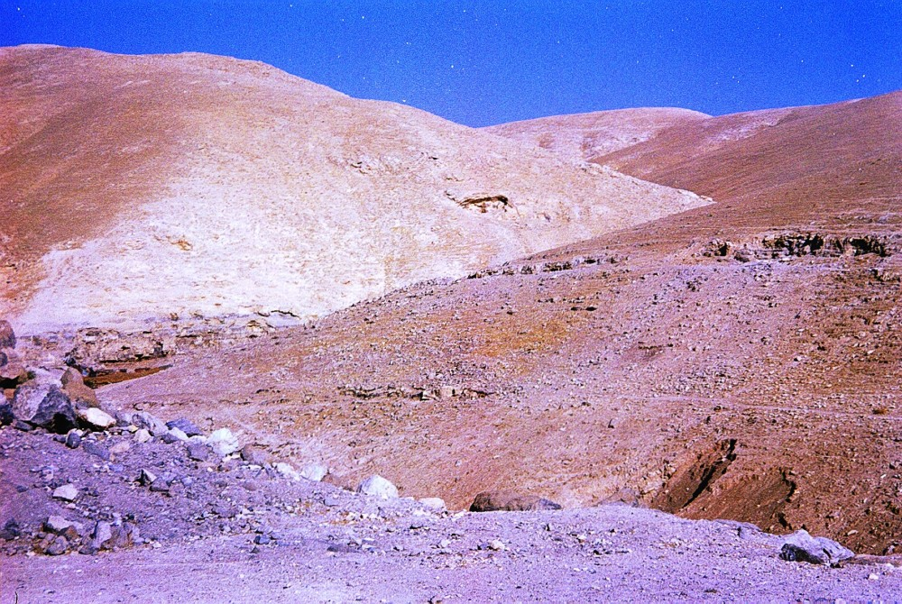 Beside the road from Jerusalem to Jericho