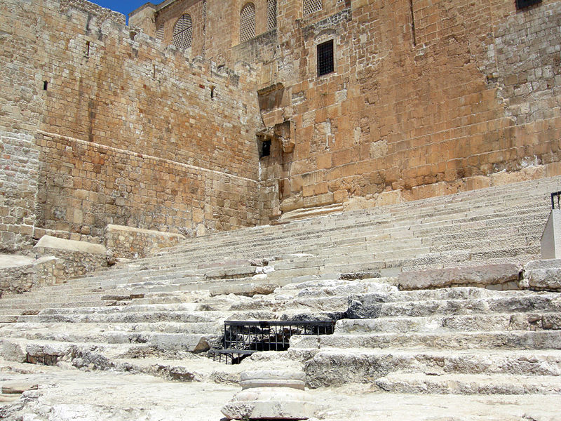 Temple Mount Southern Steps (Mark Wilson)