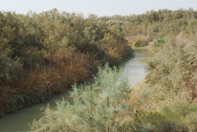 The River Jordan where John baptised at Bethany beyond the Jordan  (David Bjorgen)