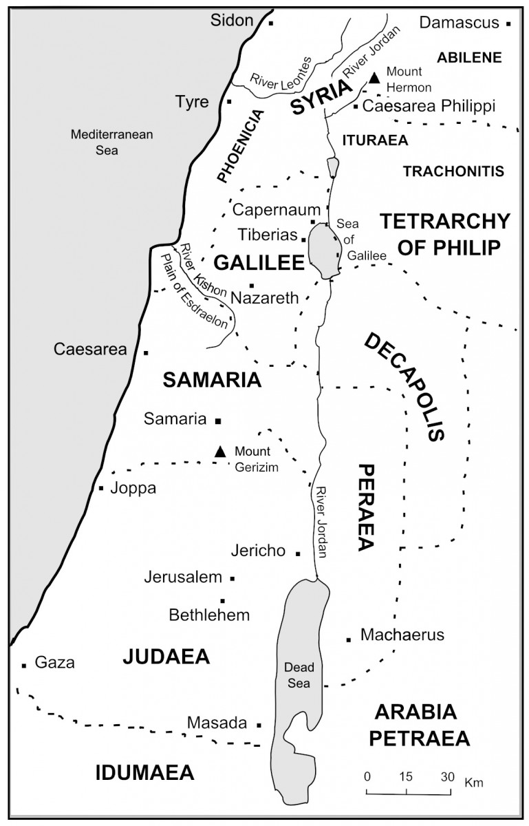 The Bible Journey | The Rulers of Palestine on map of palestine during new testament time, samaria during jesus time, map of jesus travels, jerusalem during christ time, jerusalem map at jesus time, map of palestine during the time of christ, map at time of jesus, the world in jesus time, map of bible lands, map judea samaria galilee in jesus time, map of time of jesus, galilee during jesus time, map of palestine in new testament times, map of john the baptist ministry, map of capernaum in biblical times, map of palestine in biblical times, map of israel in christ's time, topographical map of jerusalem in jesus time, map of christ jerusalem, map of jesus ministry,