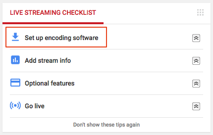 Image of Live Streaming Checklist