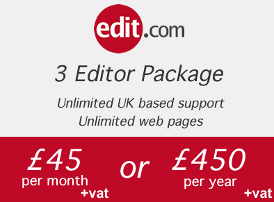 3 editor package