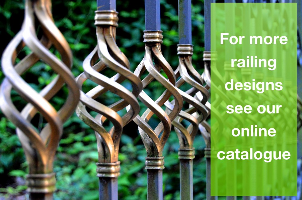 image of railings fence