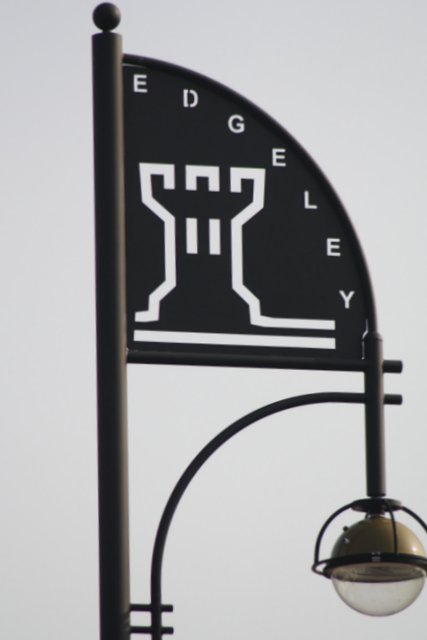 image of Edgeley sign