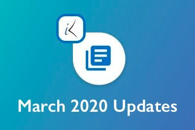 Open March 2020 Updates