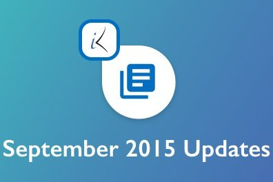 Open September 2015 Updates