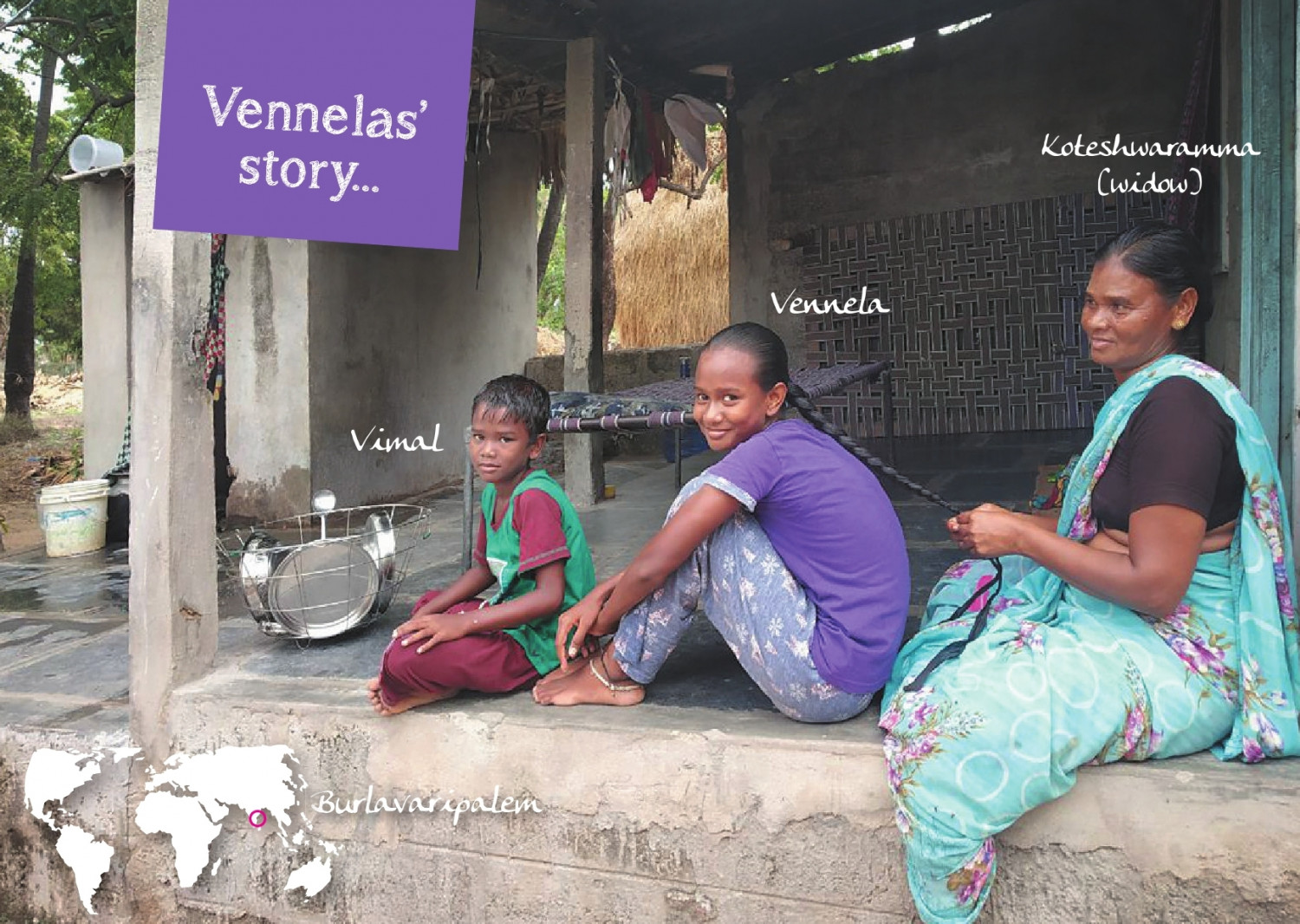 Venella and her family