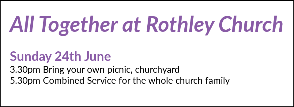 All Together at Rothley Church Sunday 8th January 2018