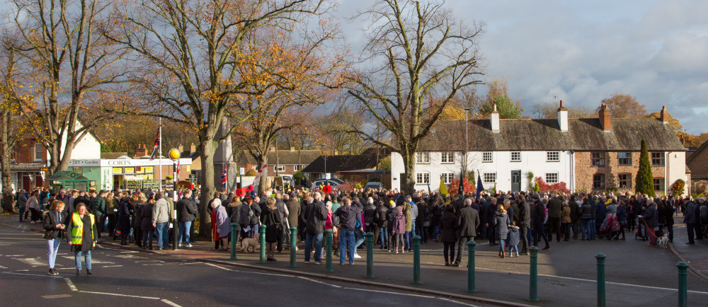 Centenary of the Armistice - Act of Remembrance at Rothley War Memorial