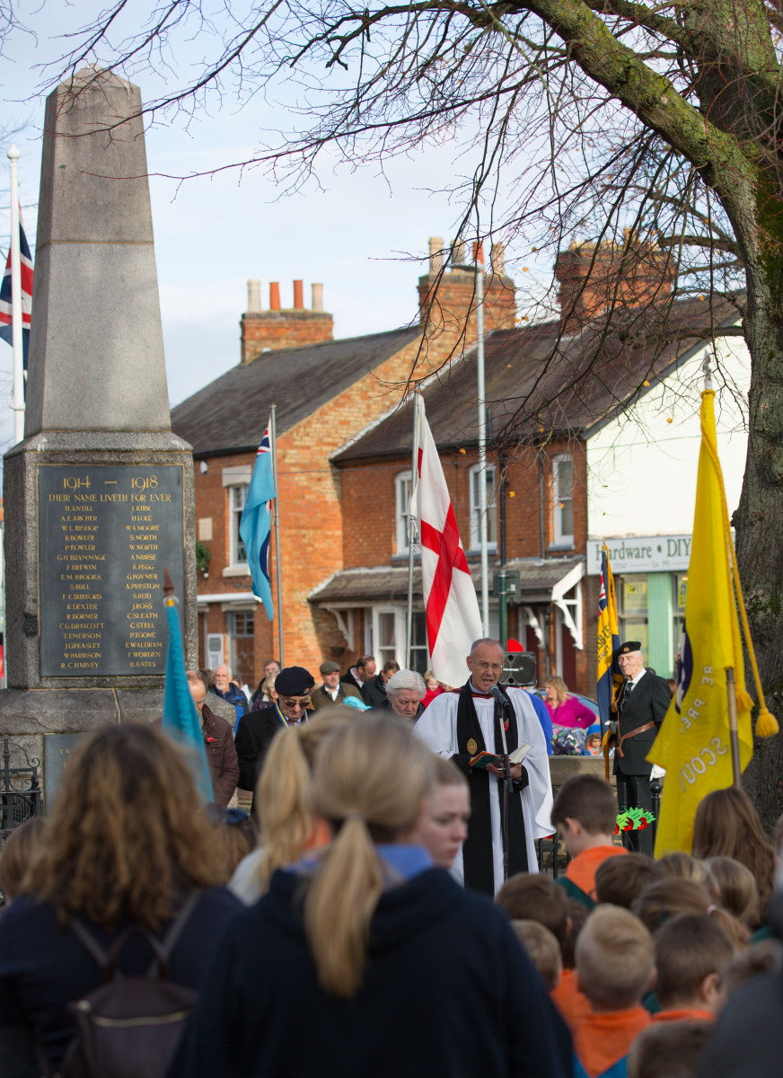 Act of Remembrance led by Rev Rob Gladstone