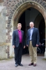 Bishop Martyn and Rob Gladstone