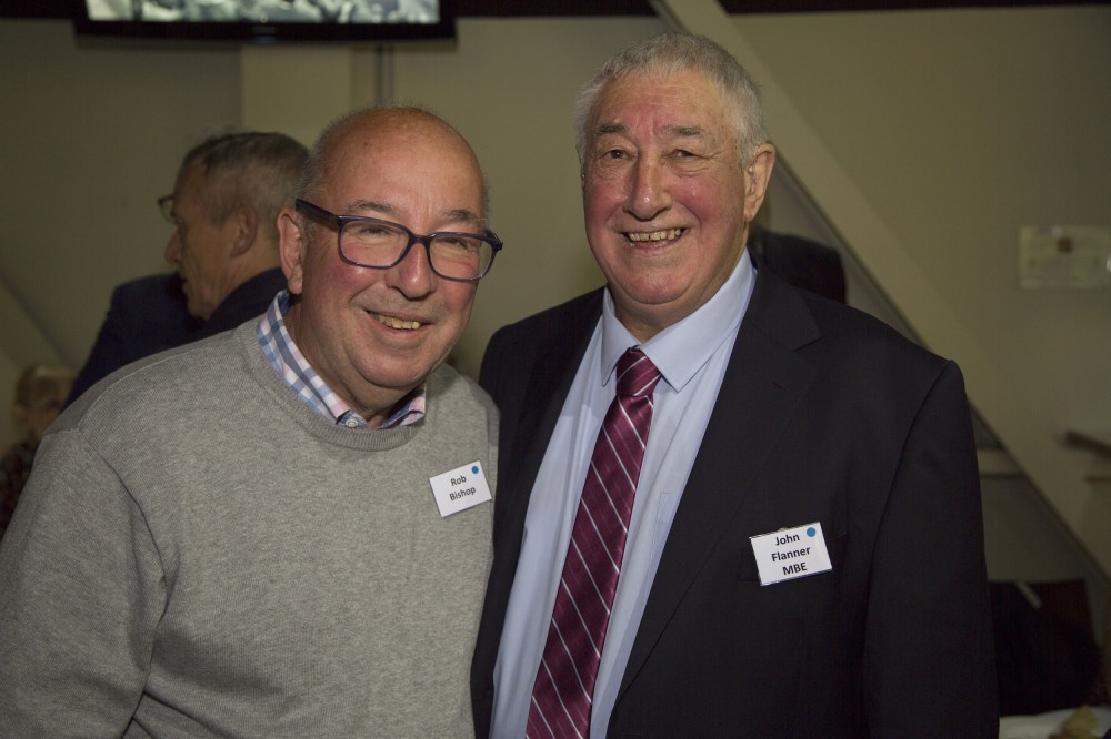 Rob Bishop with John Flanner MBE