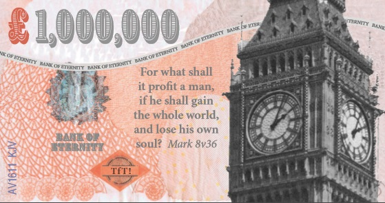 Million Pound Bank Note (Big Ben) - 3p