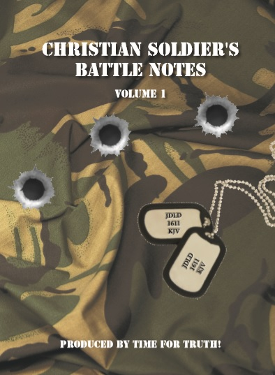 Christian Soldier's Battle Notes - £10.00