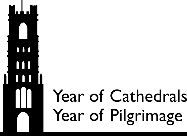 Year of Cathedrals, Year of Pilgrimage logo.