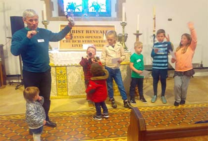 Messy Church At St. Martin's Desford