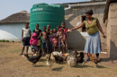 Water tank supplied by Action for Ingwuvama