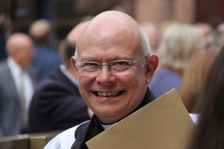Rev Peter Selby at ordination (Chester Diocese with permission)