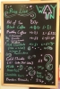 Cafe Price List
