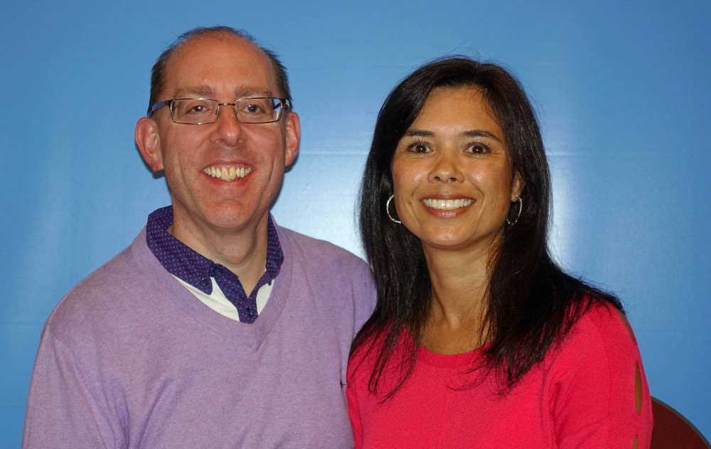 a picture of Pastor Phill and his wife, Sara
