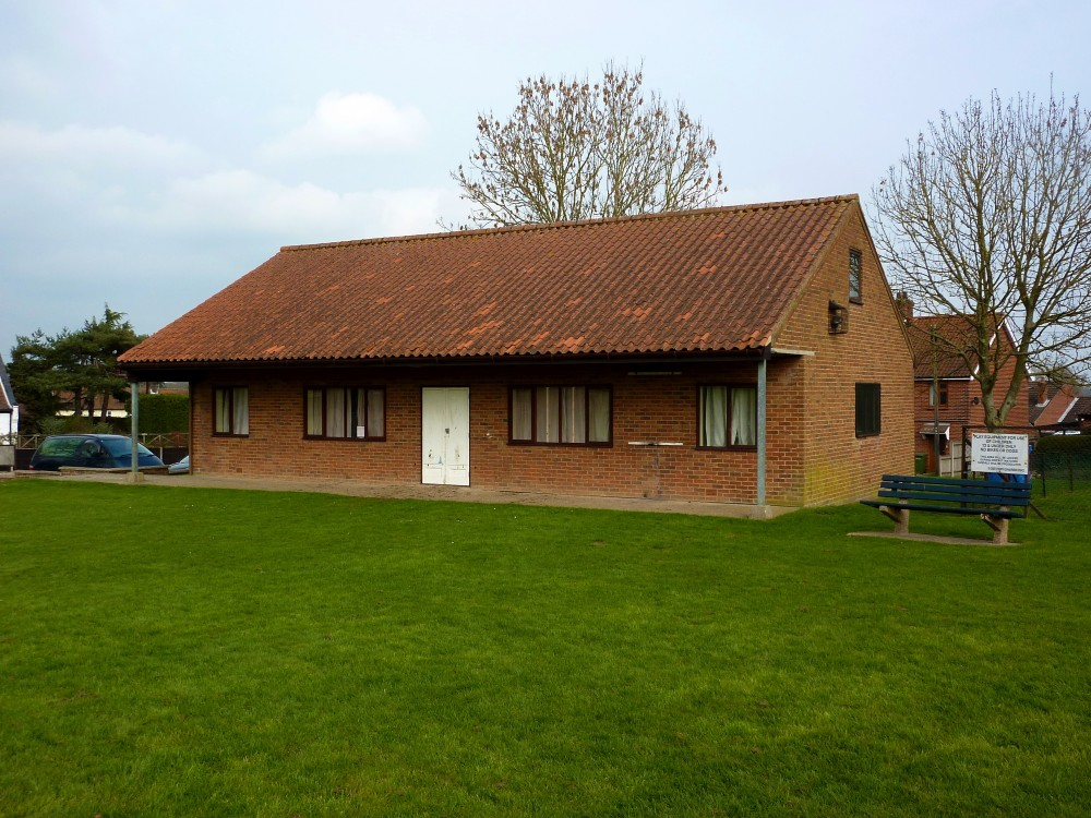 Playing Field and Pavilion