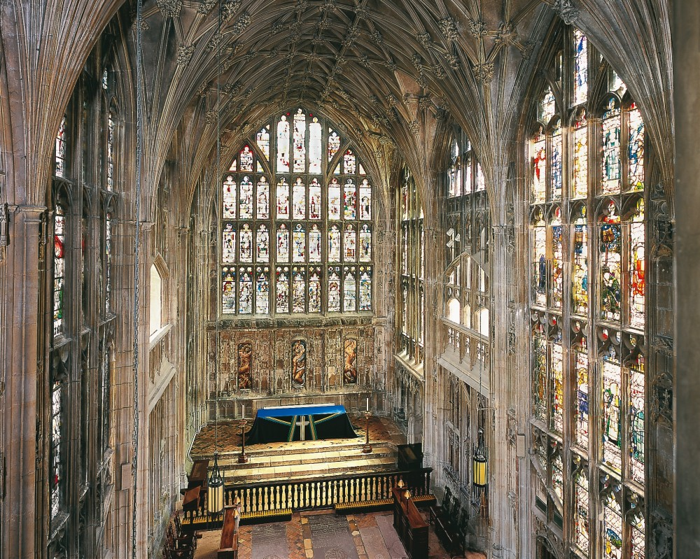 Lady Chapel Gloucester Cathedral, whose conservation we supported with a grant of £36,237 in 2017