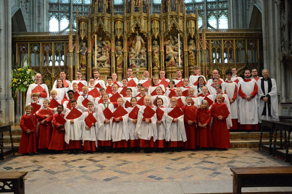 Cathedral Choir 2015/16