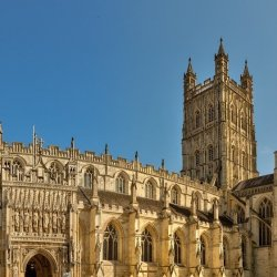 Open Gloucester Cathedral Welcomes Visitors