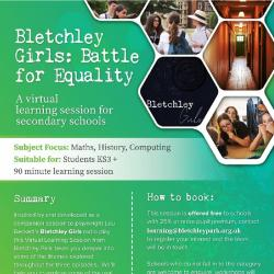 Open Bletchley Girls: Battle for Equality - A Virtual Schools Workshop