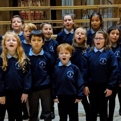 Open Junior Choir get ready to lead Choral Evensong