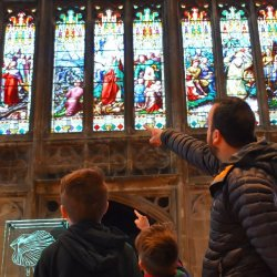 Open Gloucester Cathedral Family Learning Workshops - Stained Glass