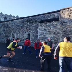 Open Walking Rugby Project is back at Gloucester Cathedral!