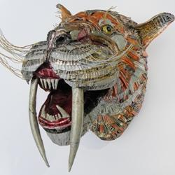 Open 'Endangered and Extinct' by creative recycling artist Val Hunt