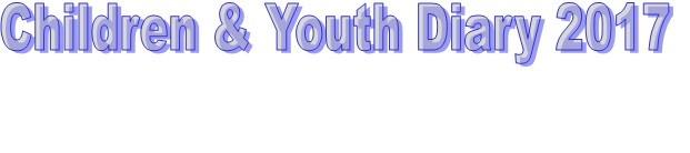 Children & Youth Diary 2017