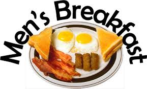a plate of fried english breakfast with the wording Men's Breakfast