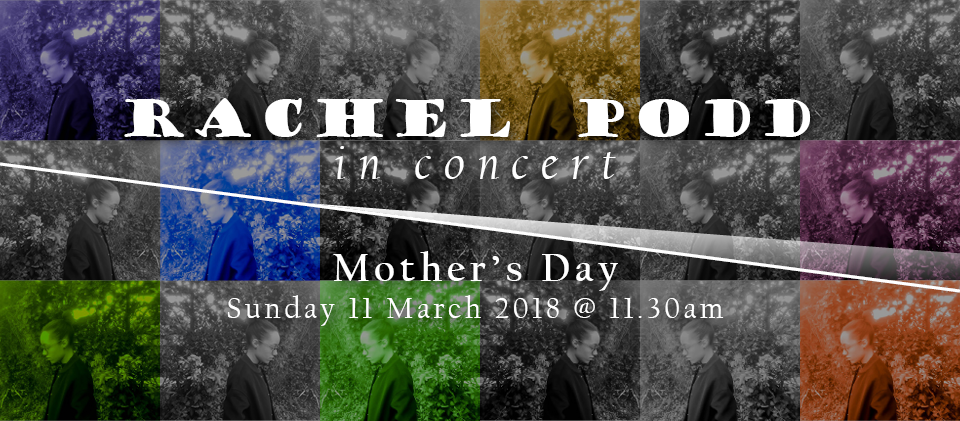 Rachel Podd in concert is a special one-off performance. This talented singer-songwriter will be sharing her songs of worship to bless mothers in Romford during our regular Church service
