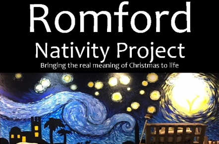 Christmas Nativity play in Romford centre
